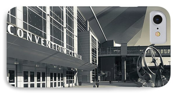 Facade Of The Centurylink Center Omaha IPhone Case by Panoramic Images