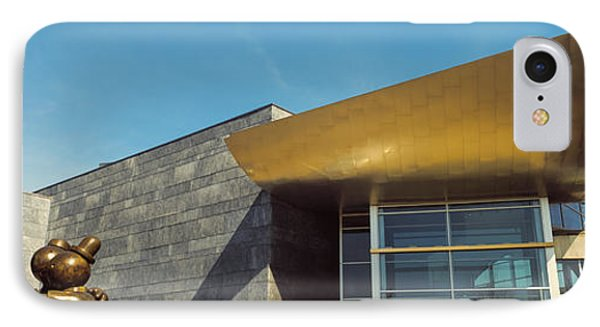 Facade Of The Hunter Museum Of American IPhone Case by Panoramic Images