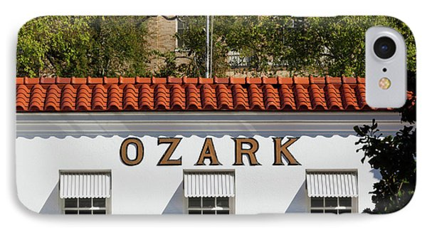 Facade Of The Ozark Bathhouse IPhone Case by Panoramic Images