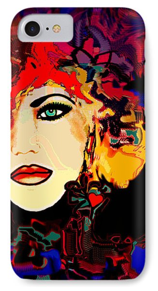 Face 14 Phone Case by Natalie Holland