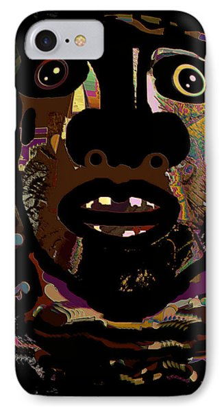 Face 15 Phone Case by Natalie Holland