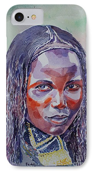 Face From Sudan  1 Phone Case by Mohamed Fadul