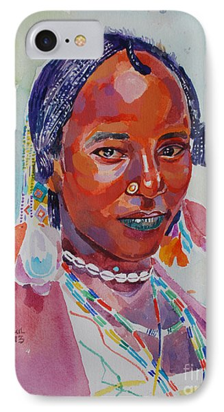 Face From Sudan  2 Phone Case by Mohamed Fadul