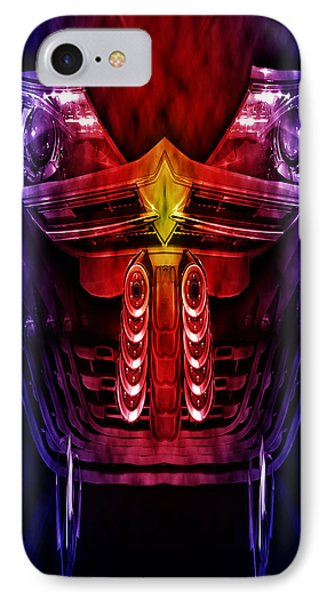 Face Of A Car IPhone Case by Nathan Wright