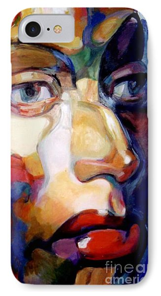 Face Of A Woman IPhone Case by Stan Esson