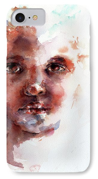 Face Of Africa Phone Case by Stephie Butler
