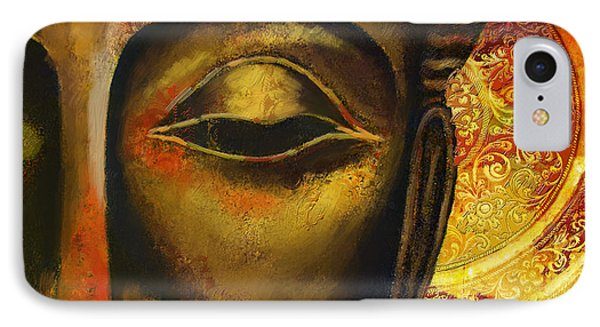 Face Of Buddha  Phone Case by Corporate Art Task Force