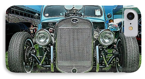 Face Of The Rat Rod IPhone Case