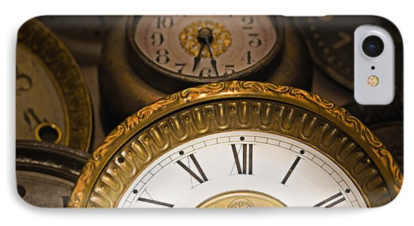Face Of Time Phone Case by Tom Gari Gallery-Three-Photography