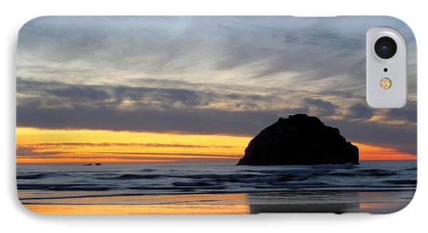 IPhone Case featuring the photograph Face Rock Streaks by Suzy Piatt
