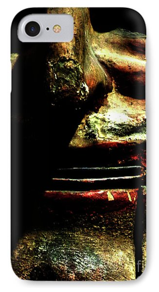 IPhone Case featuring the photograph Face Time by Newel Hunter