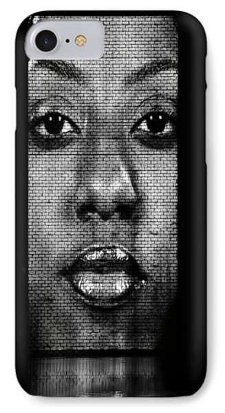 Face To Face - Crown Fountain Chicago Phone Case by Christine Till