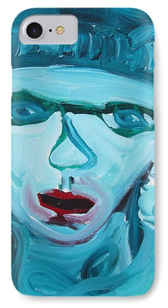 IPhone Case featuring the painting Face Two by Shea Holliman