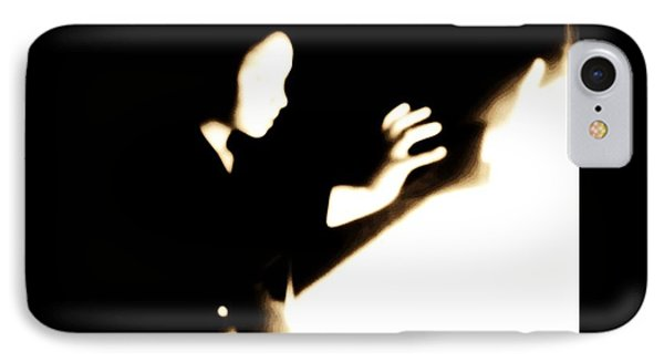 IPhone Case featuring the photograph Faceless Magician  by Jessica Shelton
