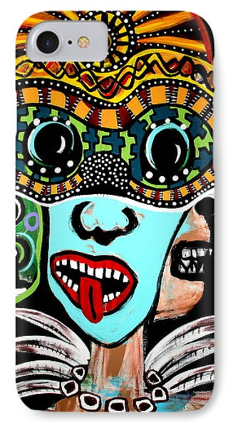 Faces Of Kali Original IPhone Case by Jamie Lopez