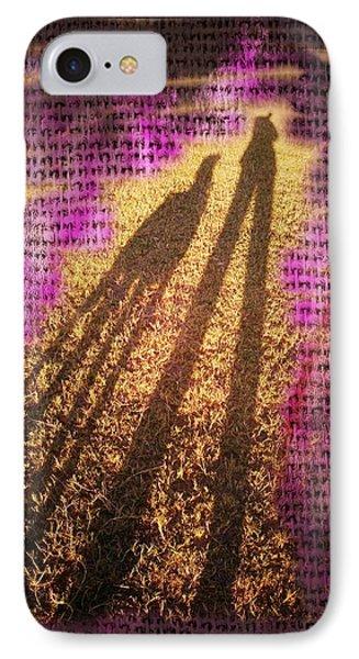 Facing The Sun Phone Case by Ernestine Manowarda