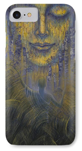 Facing The Truth IPhone Case by Vrindavan Das