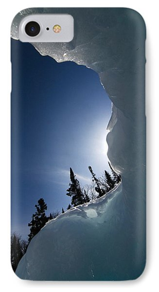 IPhone Case featuring the photograph Facing The Wind by Sandra Updyke