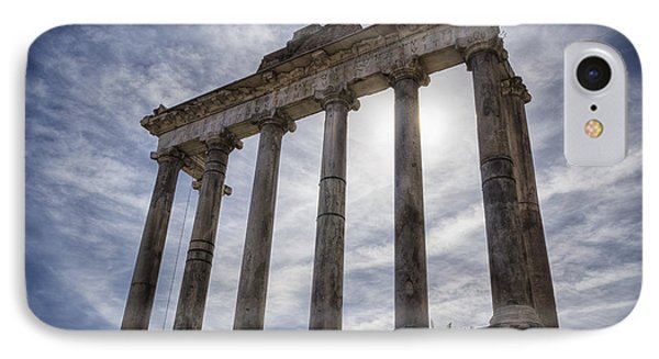 Faded Glory Of Rome Phone Case by Joan Carroll