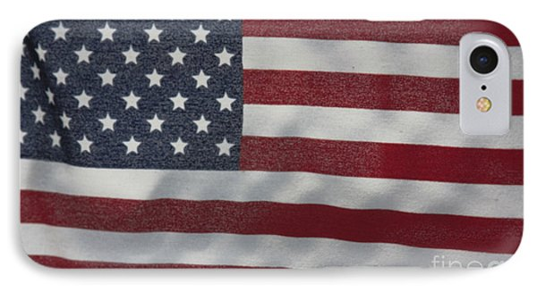 Faded Old Glory IPhone Case by Jerry Bunger
