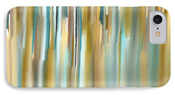 Faded Rhythm IPhone Case by Lourry Legarde