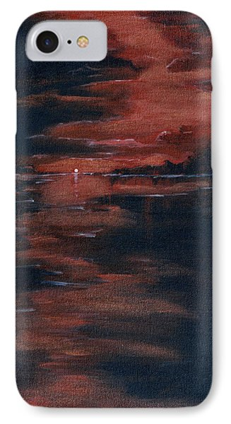 Fading Light Phone Case by Donna Blackhall