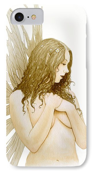 Faerie Portrait Phone Case by John Silver