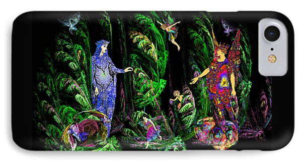 Faery Forest IPhone Case by Lisa Yount
