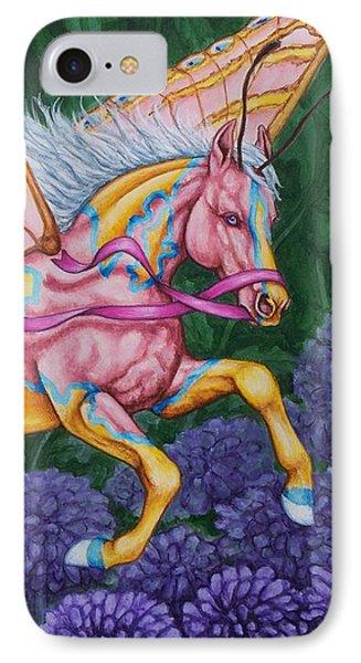 Faery Horse Hope Phone Case by Beth Clark-McDonal