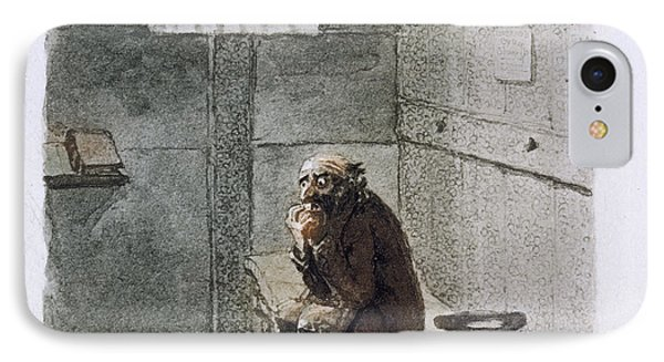 Fagin In Prison IPhone Case by British Library