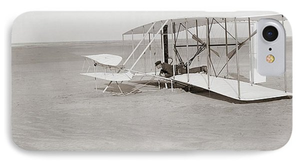 Failed First Wright Flyer Flight IPhone Case