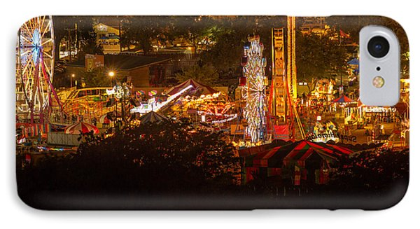 Fair Time In Paso Robles IPhone Case by Tim Bryan