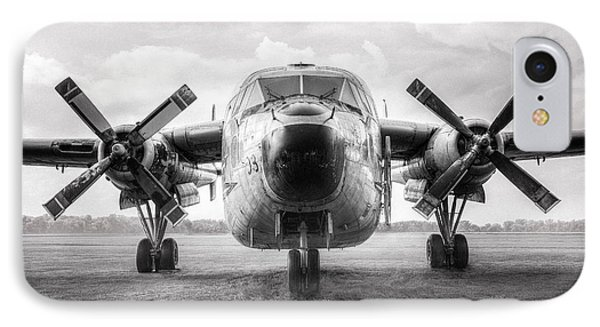 IPhone Case featuring the photograph Fairchild C-119 Flying Boxcar - Military Transport by Gary Heller