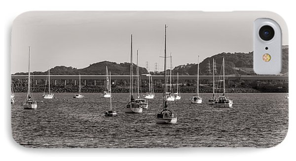 Fairlie Yachts IPhone Case by Fiona Messenger