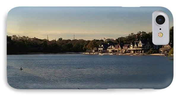 Fairmount Dam And Boathouse Row Phone Case by Photographic Arts And Design Studio