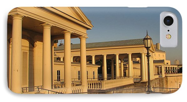 IPhone Case featuring the photograph Fairmount Water Works by Christopher Woods