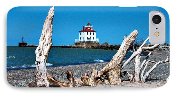 Fairport Harbor Lighthouse 2 IPhone Case by Michelle Joseph-Long