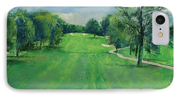 Fairway To The 11th Hole IPhone Case