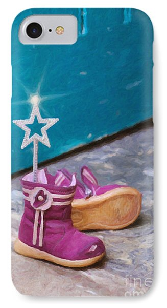 Fairy At The Door  Phone Case by Tim Gainey