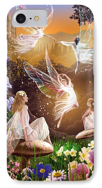 Fairy Ballet IPhone 7 Case by Garry Walton