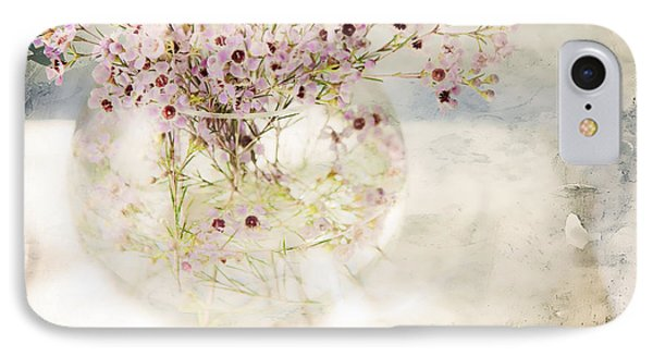Fairy Bouquet Phone Case by Theresa Tahara