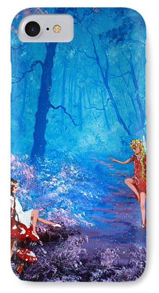 Fairy Dancer IPhone Case by Jean Walker