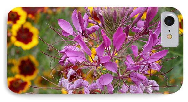 Fairy Flower IPhone Case by Susan Alvaro