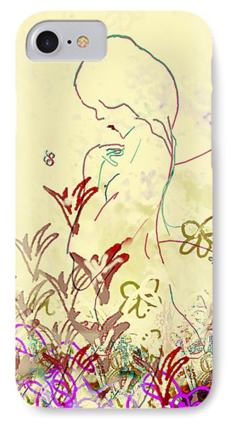 Fairy IPhone Case by Gabrielle Schertz
