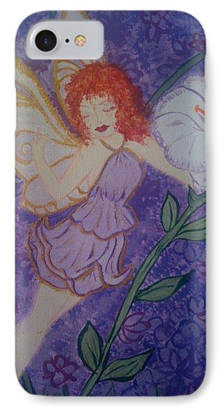 IPhone Case featuring the painting Fairy Harmony  by Judi Goodwin