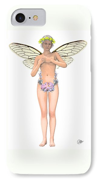 Tinker Bell Modernist IPhone Case by Quim Abella