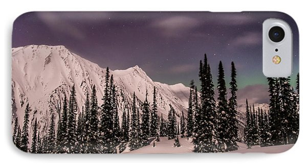 Fairy Meadows Northern Lights IPhone Case by Ian Stotesbury