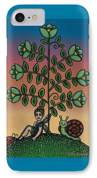 Fairy Series Tina Phone Case by Victoria De Almeida