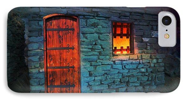 Fairy Tale Cabin IPhone Case by Gunter Nezhoda
