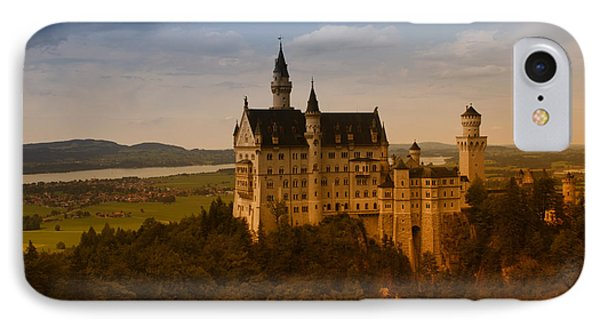 Fairy Tale Castle IPhone Case by Miguel Winterpacht